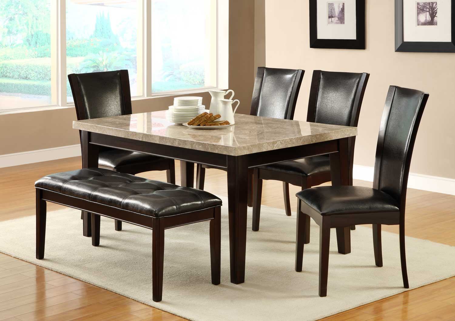 H2529 MARBLE DINING SET